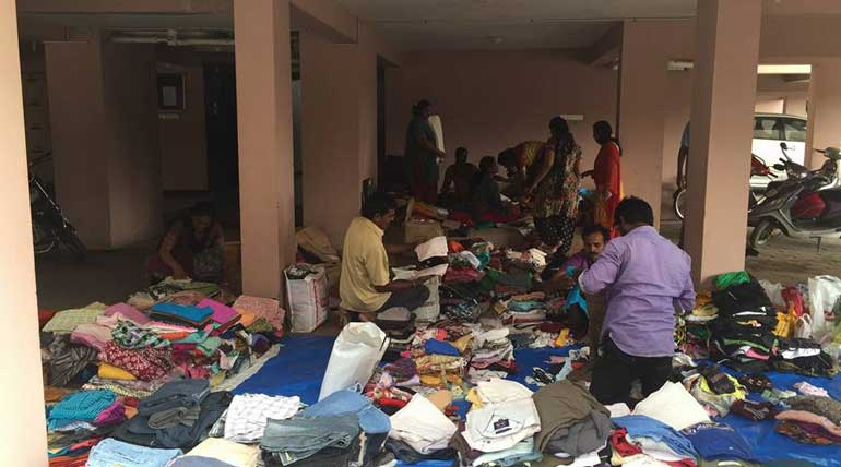 Chennai Flood 2015 Relief Team at Coimbatore