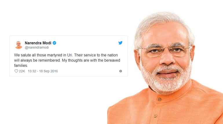 The cowardly Uri Terror Attack Will Be Punished-PM Modi
