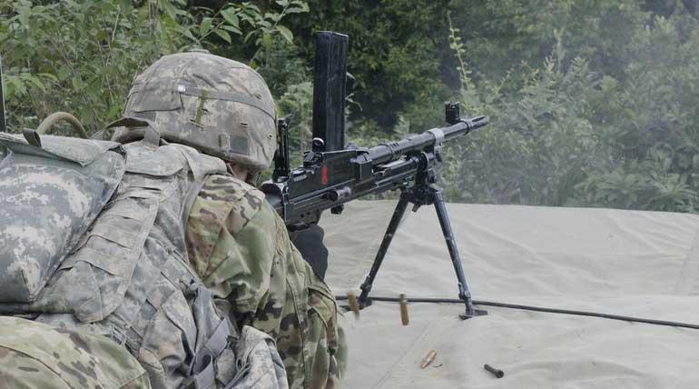 Indian Army Training Photo
