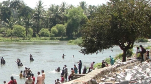 Just Seven days Left To meet The deadline To Form CMB. Representation for Cauvery river. Cauvery River captured at Gosai Ghat