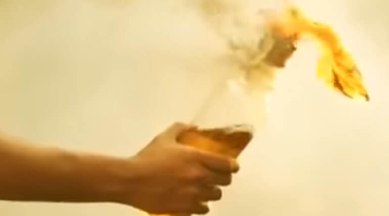 Another Petrol Bomb Hurled In The Residence OF Coimbatore BJP Chief
