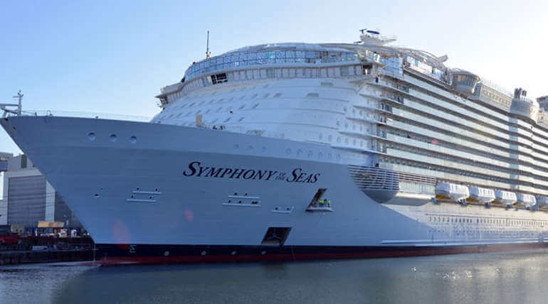 World New Largest Cruise Ship To Set Sail From Barcelona In April