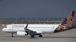 Passenger Detained For Molesting A Vistara Flight Crew Member. photo credit Vistara Flights