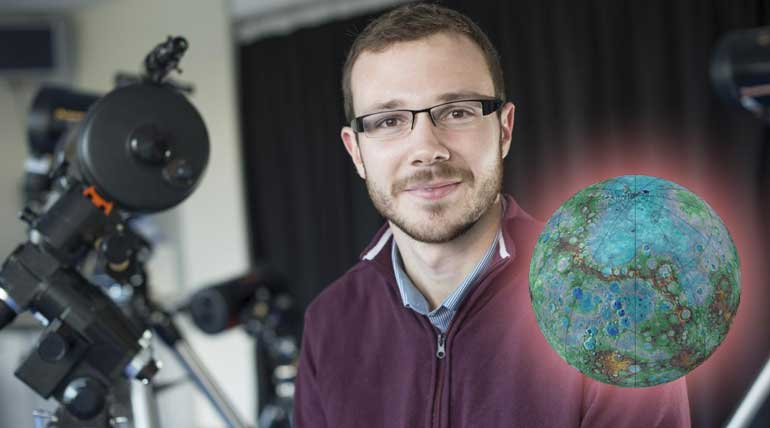 Scientist Discovered Earth Sized Planet Orbiting A Dwarf Star. Dr David Armstrong. photo credit - University of Warwick