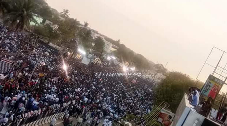Thoothukudi Is Performing A Marina Like Protest