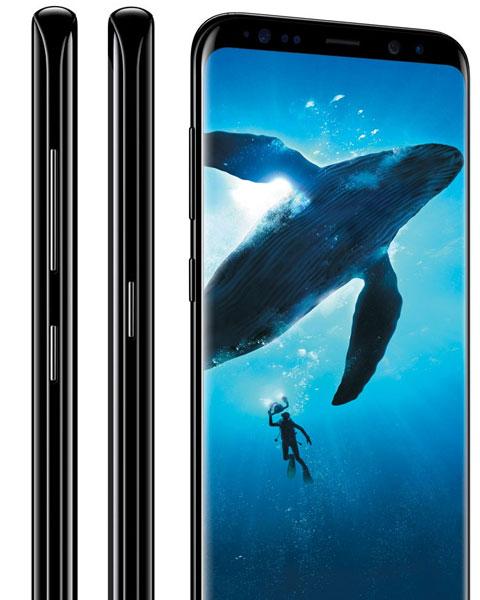 S8 plus - 6.2-inch display