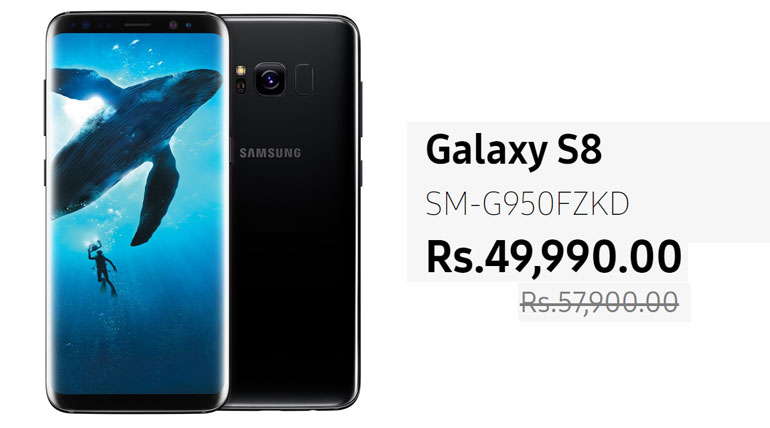 Samsung has reduced the price of its model Galaxy S9 on   Monday by about Rs. 7,000 thus available in shops at Rs. 49,990 only Photo Credit: Samsung India