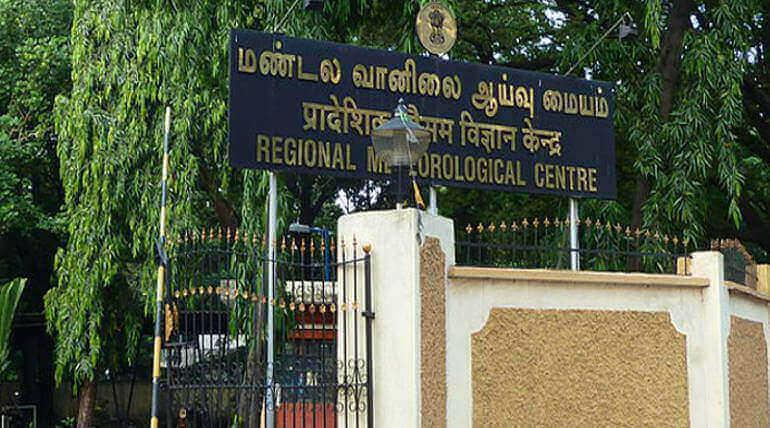 Regional Meteorological Centre Chennai Image Credit: Wikipedia Balajijagadesh
