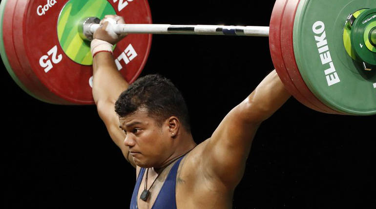 Ragala Venkat Rahul Gets Fourth Gold For India In Weightlifting In CWG 2018 Image Credit:Twitter @rahulrpatel27