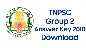 TNPSC Group 2 Answer key