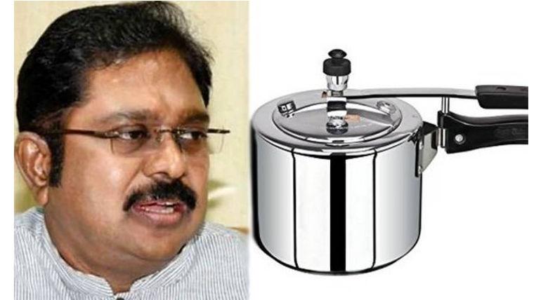 TTV Dhinakaran Cooker Symbol Case Image Courtesy @MinAmbalam Twitter