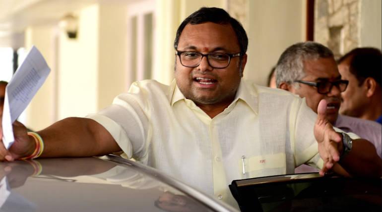Sudarshana Nachiyappan Against Karti Chidambaram