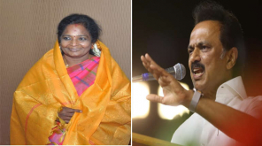 Tamilisai Soundararajan Tweeted against Stalin Speech
