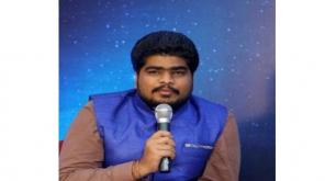 Tamilnadu Youth Wins Commonwealth Best Youth Award 2019 Image Courtesy Padmanaban Twitter