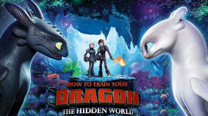 How to Train a Dragon 3 Hidden world movie poster.