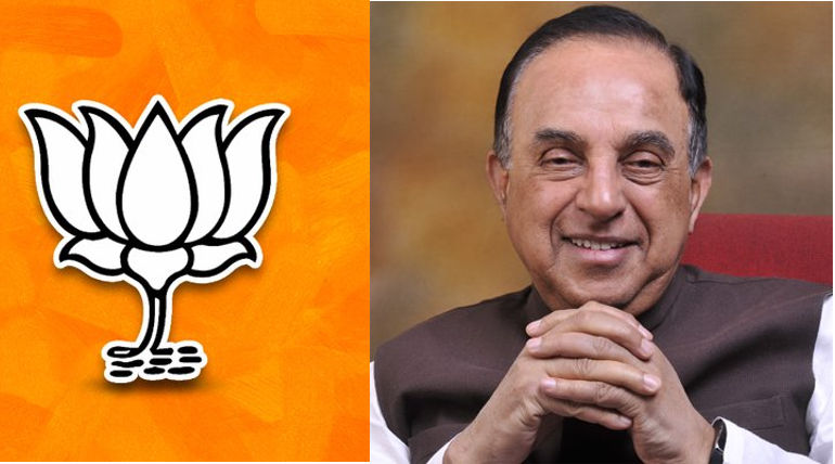 Subramanian Swami Latest Comment about BJP