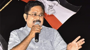 TTV Dhinakaran during a Public Meet Courtesy Twitter