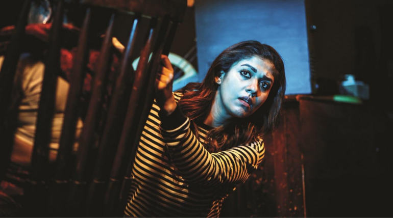 Airaa Movie Online Ticket Booking Image Courtesy KJR Studios
