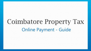 Coimbatore City Municipal Corporation Online Property Tax Payment