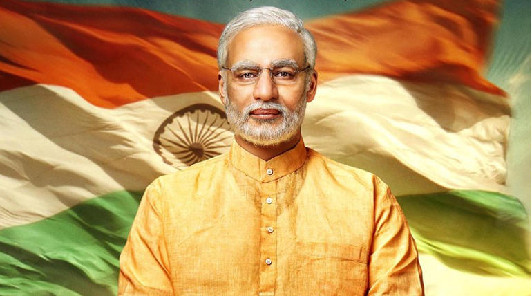 PM Narendra Modi Official Trailer Image Courtesy Legend Global Studios