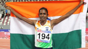 Gomathi Marimuthu First Woman and First Gold in Asian Athletics Championships