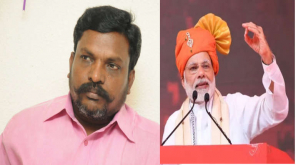 Modi Should Speak the Achievements Not the Caste Thirumavalavan Talks