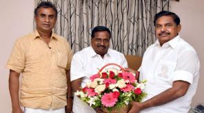 Eddapadi Palaniasamy Campaign Sulur Constituency for Kandasamy