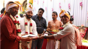 Darbar Movie Shoot Starts with a Pooja , Image Courtesy - Lyca Productions