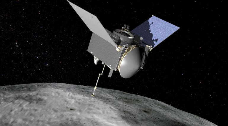 NASA Osiris – Rex Spacecraft. Photo Courtesy NASA