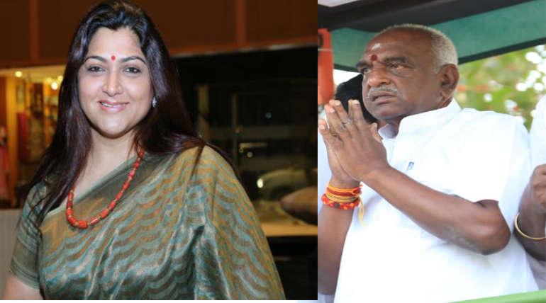 Kushboo should be Careful Pon Radhakrishnan Statement
