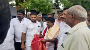 DMK candidate for Ottapidaram MC Shanmugaiah