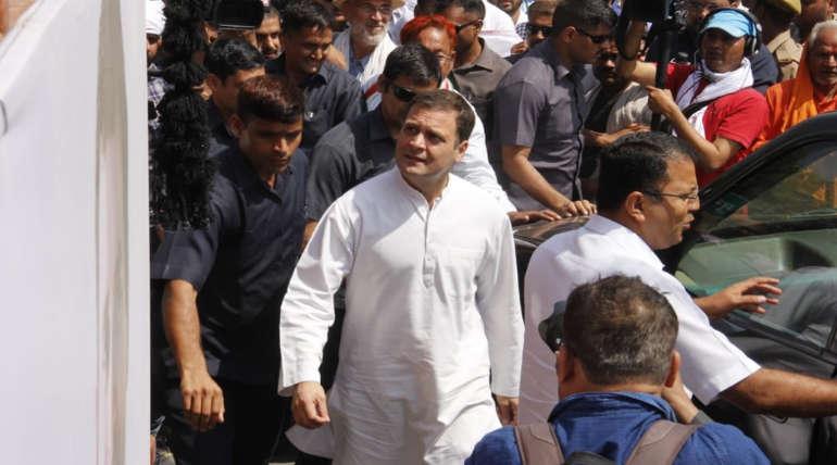 Rahul Gandhi threatened: Congress notices sniper gun laser in Amethi