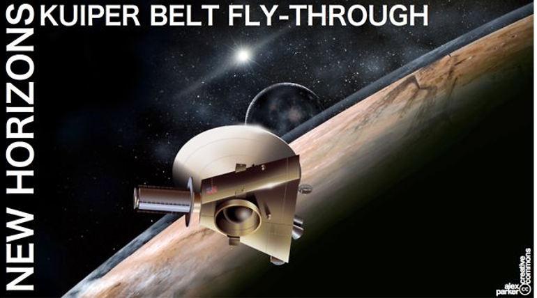 NASA Spacecraft New Horizon. Photo NASA