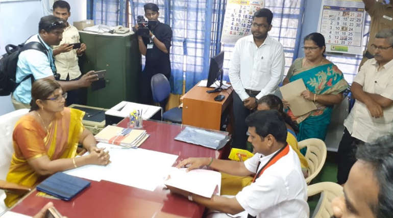 Senthil Balaji Filed Nominee For Aravakurichi Constituency