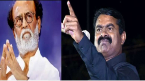 NaamTamilar Party Seeman Criticize Rajinikanth and Modi