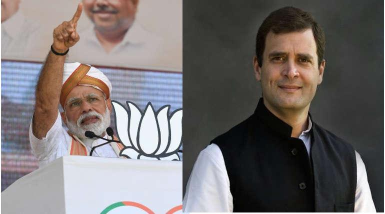 Rahul Gandhi Tweet Vs Narendra Modi Tweet for Voters of this Election 2019