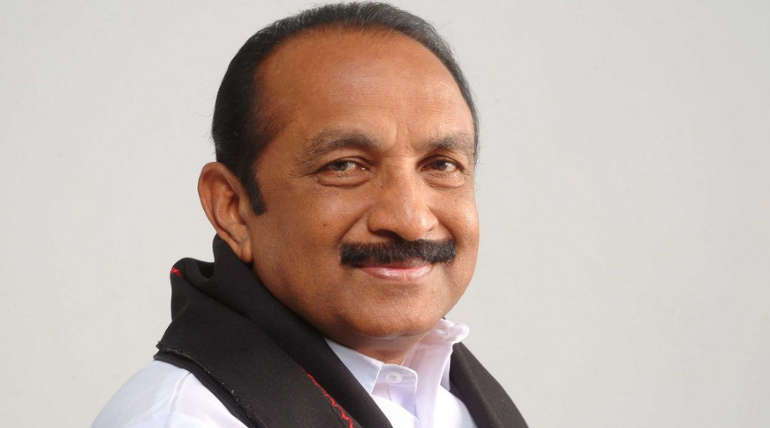 Vaiko condemned Vellore constituency Election Cancellation