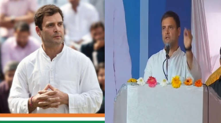 Rahul Gandhi Election Campaign Rally in Krishnagiri