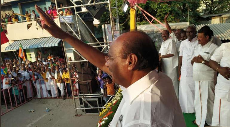 PMK leader Ramadoss Campaign in Dharmapuri