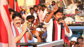 Udayanidhi Stalin in Central Chennai Campaign