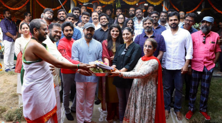 Suriya 38 Movie Shoot Officially Kick Starts - Cast and Crew , Image Courtesy - 2D Entertainment