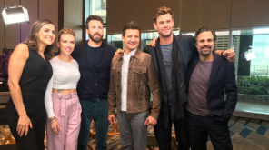 Avengers End Game Promotion Press Tour