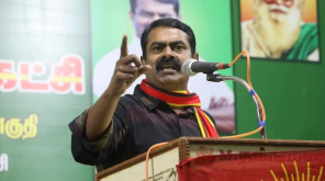 Seeman Latest Speech Lok Sabha Election 2019 , Image - @NaamTamilarOrg Twitter