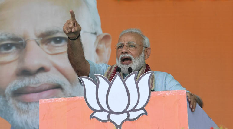 Narendra Modi Attacks INC Party