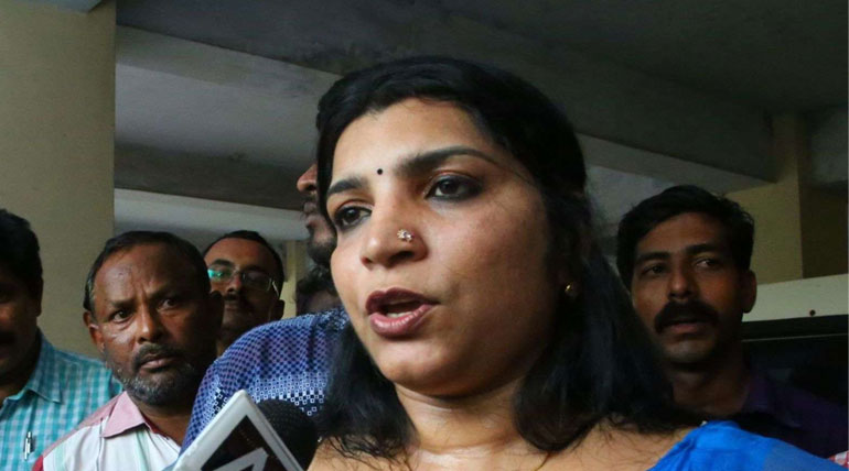 Saritha Nair Who Contest Against Rahul in Amethi