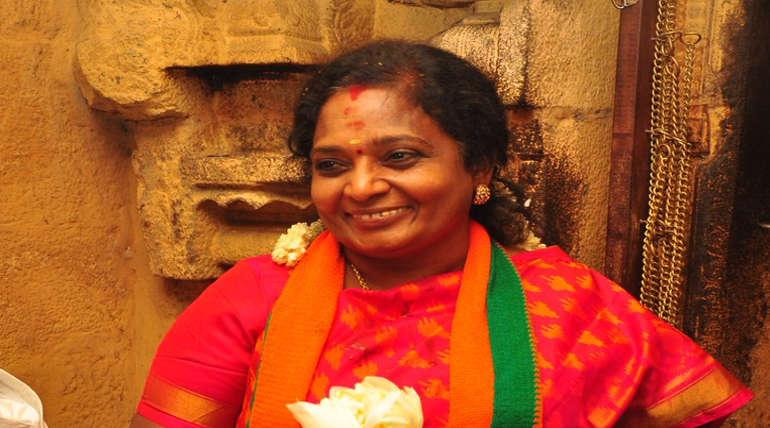 TN BJP President Tamilisai Soundararajan