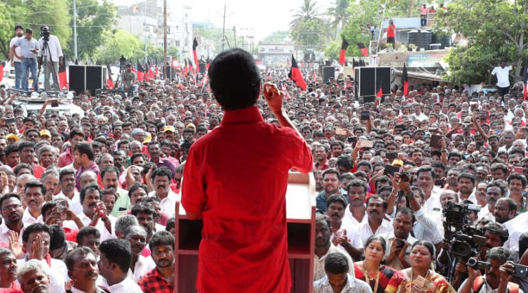 Stalin speech in Thoothukudi: DMK is Guardian of Workers Not Modi