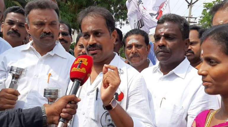 Makkal Needhi Maiam Tiruparankundram Candidate P Sakthivel Palaisamy Facts