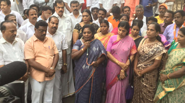 Tamilisai Soundarajan Comment that People have no Believe in M K Stalin