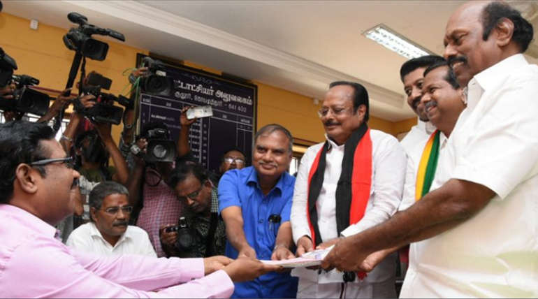 DMK Sulur Candidate Pongalur Palanisamy